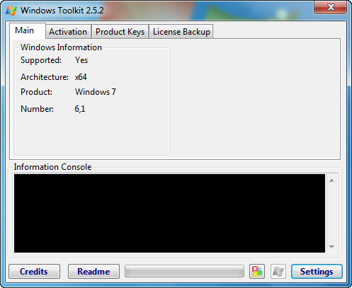 backup windows 7 activation key from hd