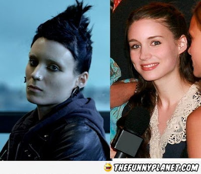 Girl With The Dragon Tattoo in Real World  - Rooney Mara