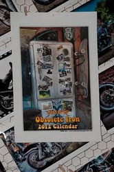 2012 Obsolete Iron Calendar