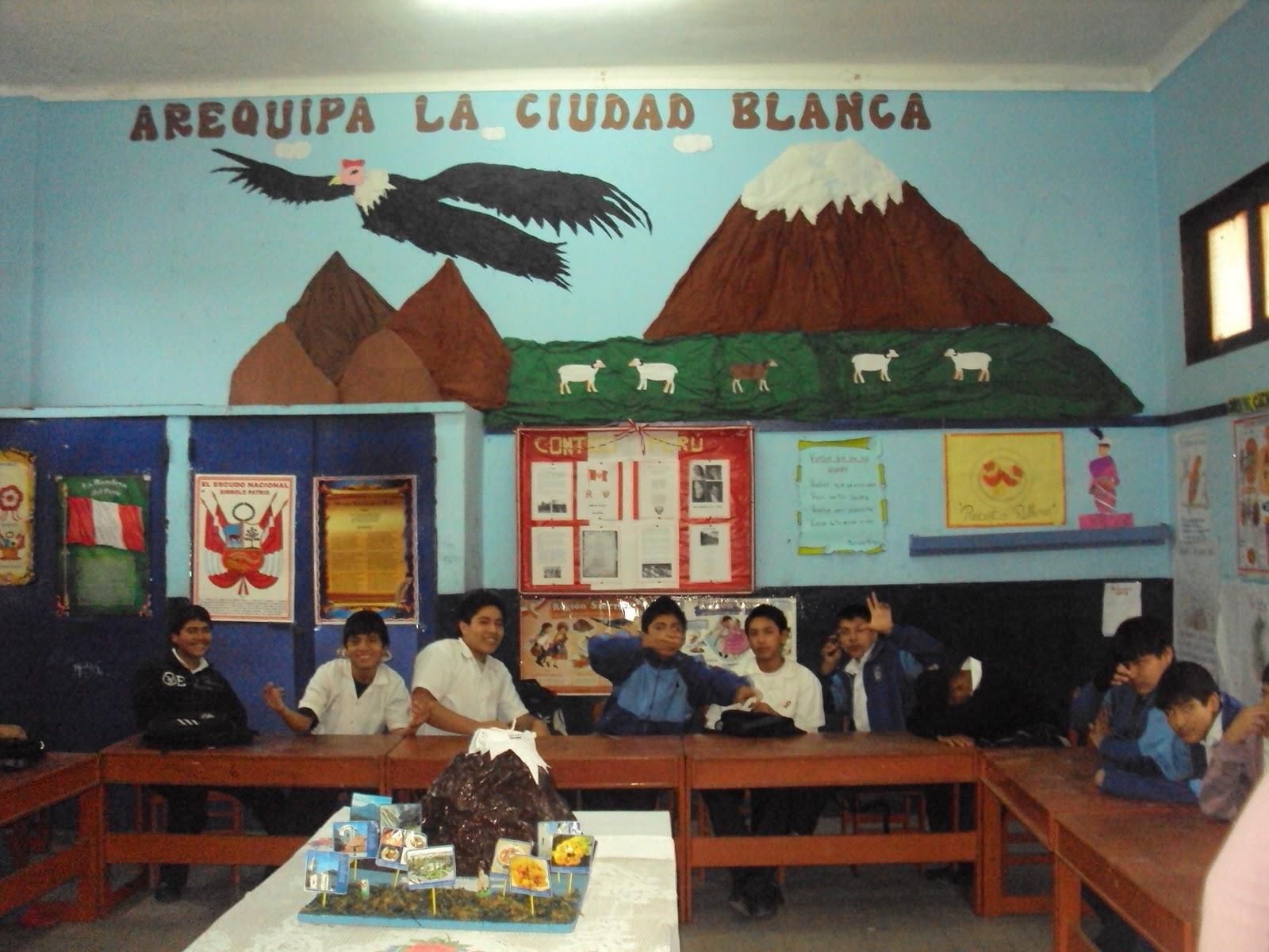 concurso de ambientación de departamentos del perú los alumnos