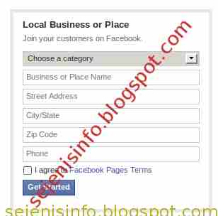 creating and field your facebook name