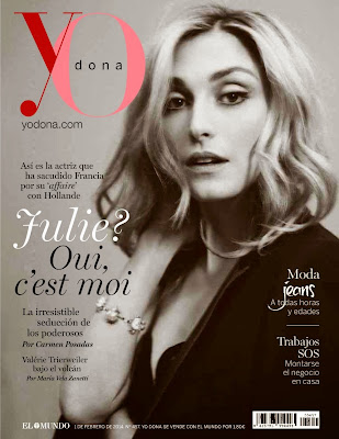 Julie Gayet HQ Pictures Yo Dona Spain Magazine Photoshoot February 2014