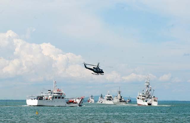 Tim reaksi cepat Komando Armada Barat TNI AL