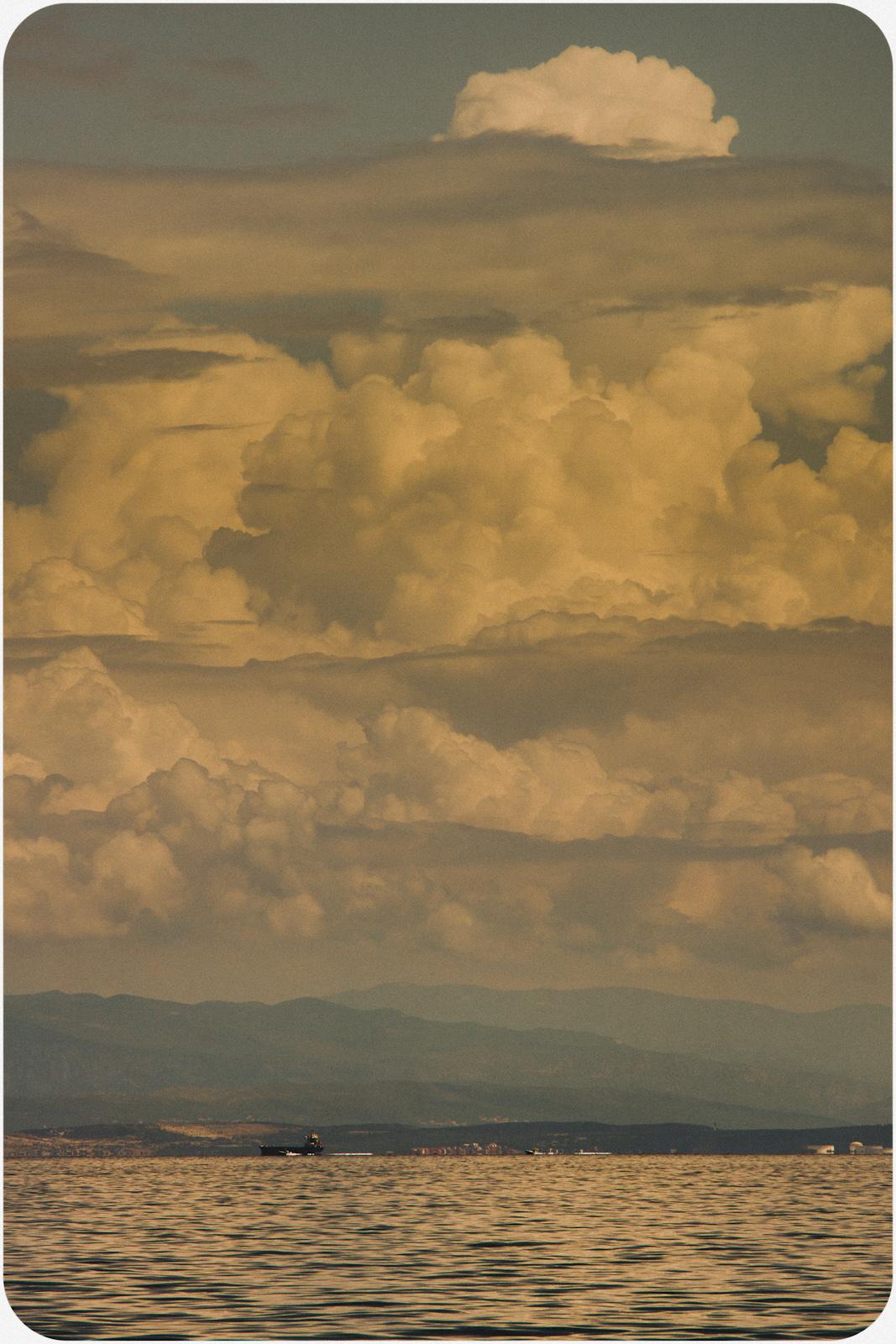 Burza nad Adriatykiem. fot. Łukasz Cyrus