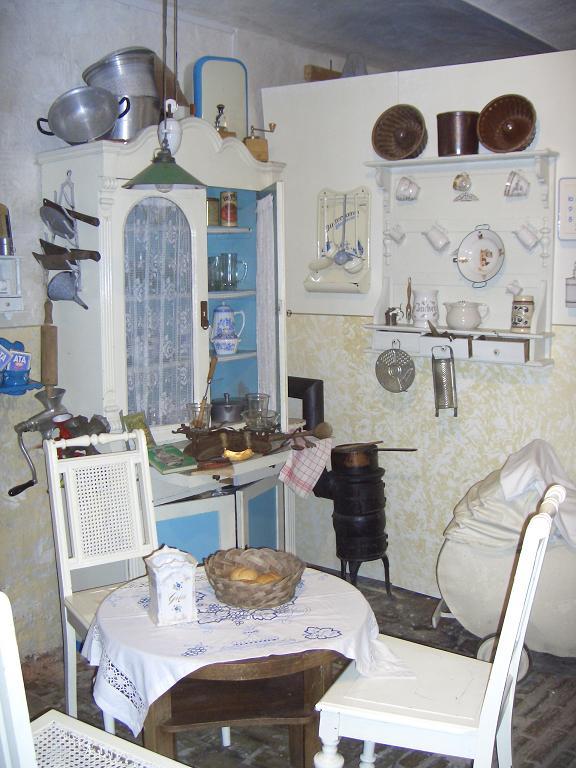 Küche im Pferdestall