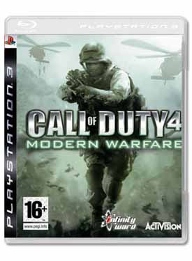 Call of Duty 4 - Modern Warfare Cheat Codes