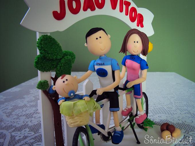 Biscuit Quadro Ciclistas Ciclismo
