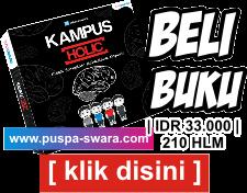 Buku Komik Kampus Holic