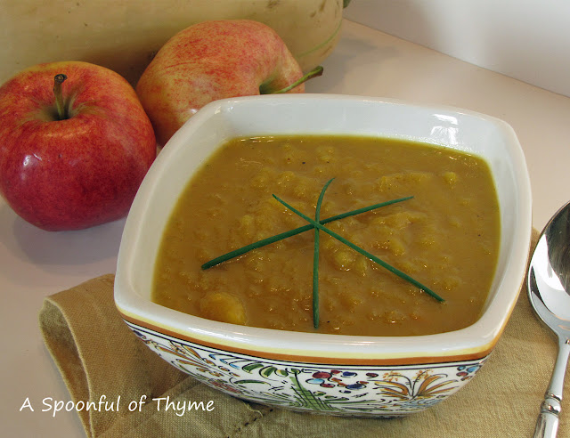 A Spoonful Of Thyme Butternut Squash And Apple Soup
