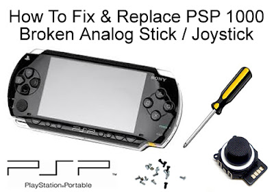 How Fix Psp Analog Stick 46