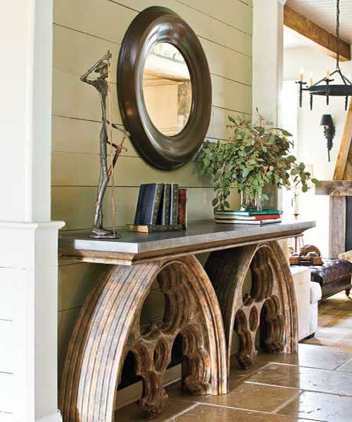 Color Outside the Lines: The Foyer : Console Tables