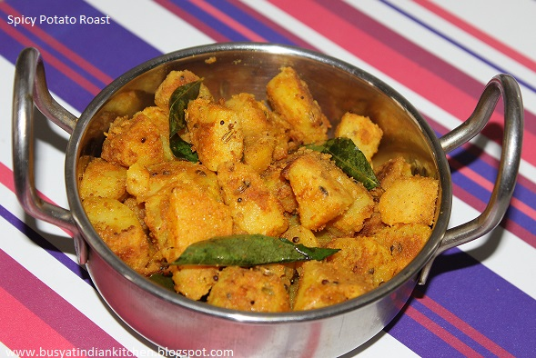 spicy potato roast