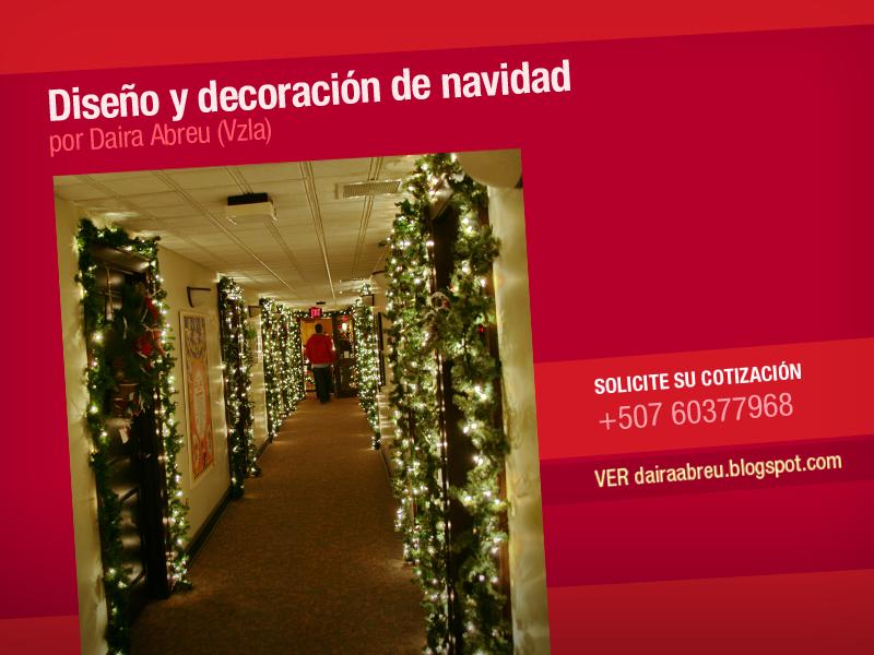 Daira Abreu Dise O Creatividades Decoracion De Navidad