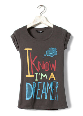 Camiseta Pull And Bear - I know i'm a dreamer