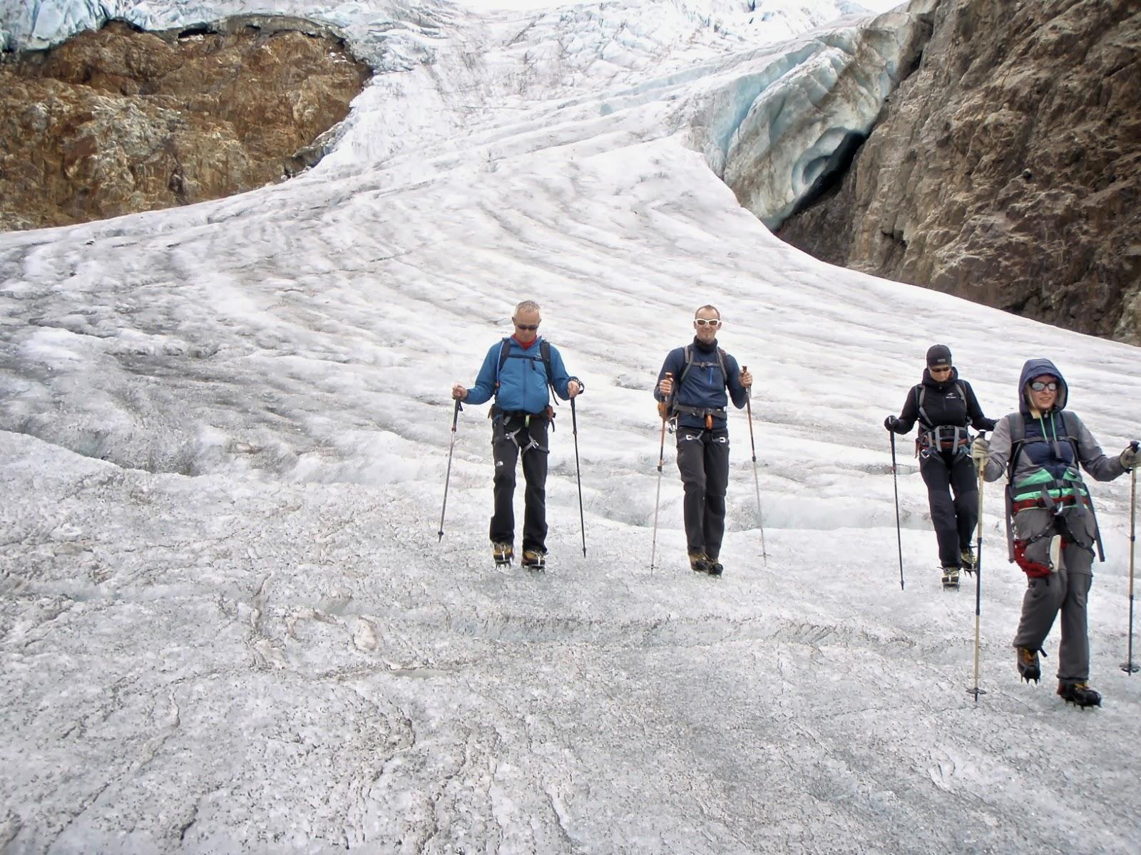 Klettersteig Tierbergli : Urs baumgartner: tierbergli; klettersteig und gletscher trekking