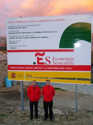 Obra financiada por el Gobierno de España