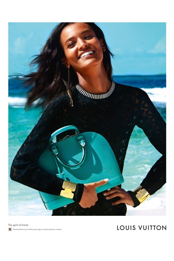 Louis Vuitton heads to the Caribbean for the 'Spirit of Travel' 2015 Campaign