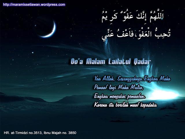 Malam Lailatul  Qadar/Qadr. Tanda-Tanda dan Cara Mendapatkannya