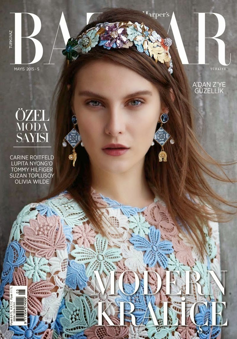 Fashion Model @ Charlotte Wiggins by Cihan Oncu for Harper's Bazaar Turkey May 2015