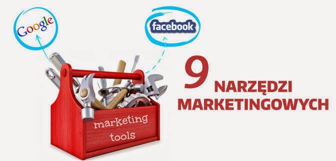 9 narzędzi marketingowych