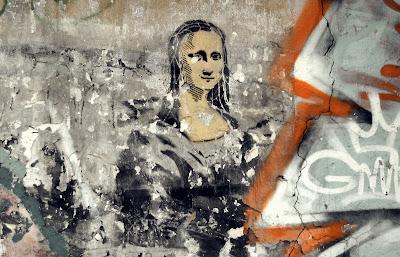 Mona Lisa, perfil derecho