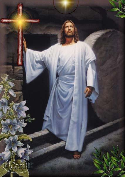 Resultado de imagen para imagen de jesus resucitado