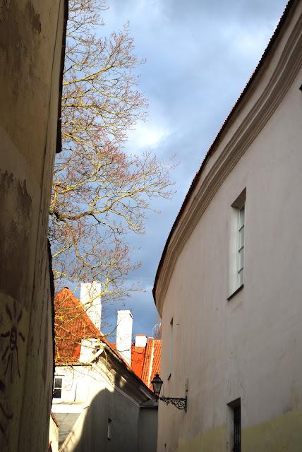 The smallest street in Vilnius - Siauriausia Vilniaus gatve - Skapo gatve - Skapo street