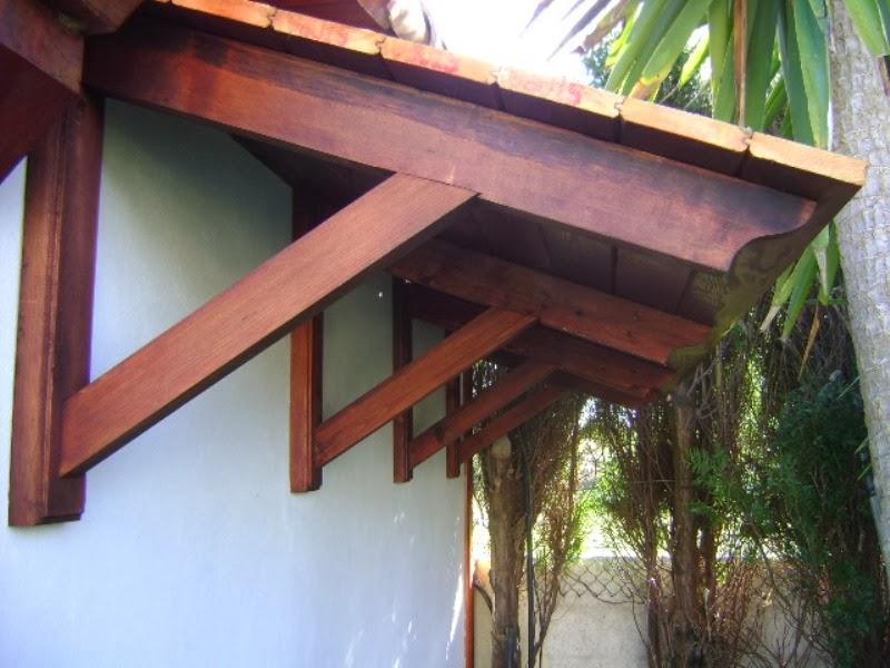 El sexagenario porche cenador - Como construir un porche de madera ...