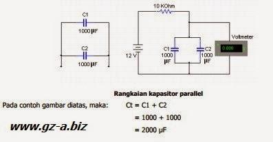 Hubungan Parallel Pada Kapasitor