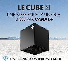 Le Cube S, le Décodeur connecté