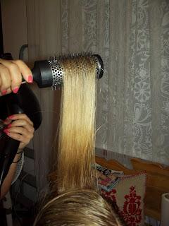 átmenetes szőke haj