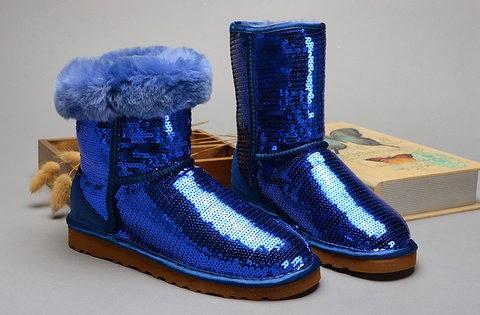 Women Love Sequin Glitter : Blue Sequin Dress & Blue