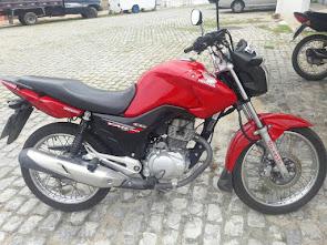 Vende-se uma Moto Honda Fan 150 ano 2014 em Campo Grande/RN