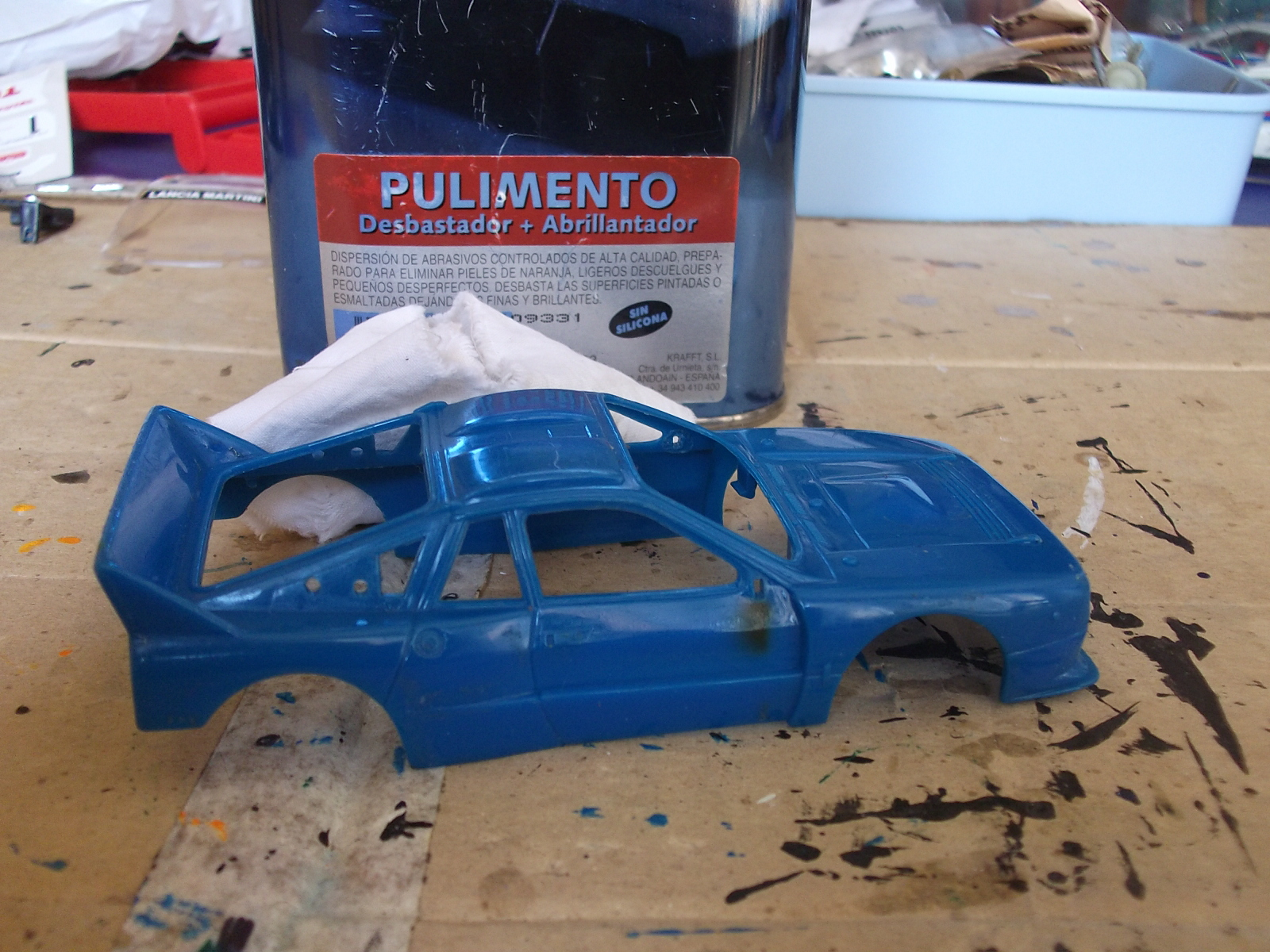 El rinc n de titoju lancia 037 pioneer ex n - Pulimento para faros ...