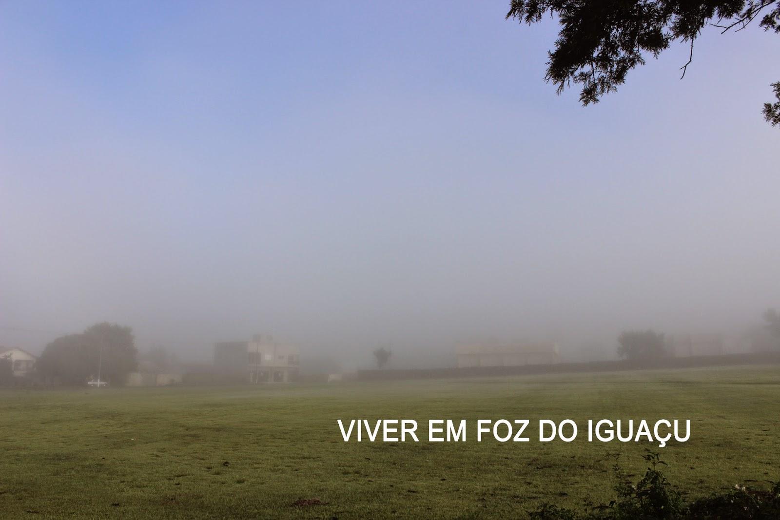 Temperatura em Foz do Iguaçu: Prenúncio de um Outono bem frio