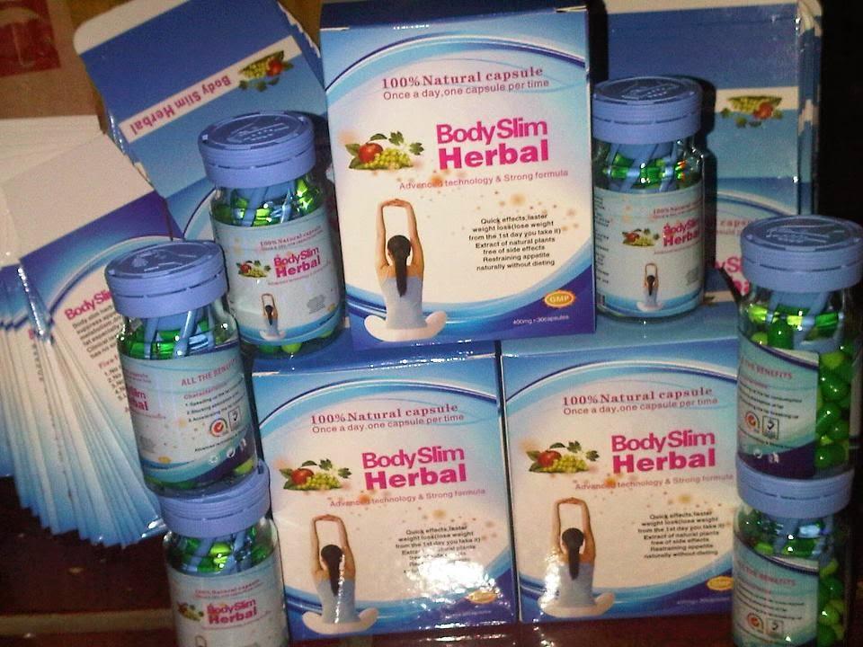 Pelangsing Body Slim Herbal 100% Alami dan Terbukti