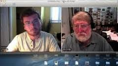 Dr. Strange and Anthony Capps using video interview