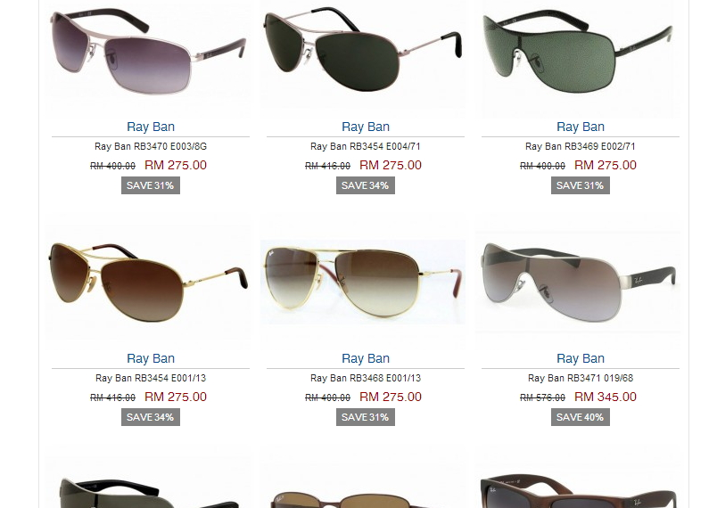 ray ban aviator sunglasses malaysia