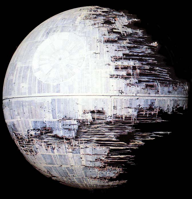 Costo de la Estrella de la Muerte: $852.000.000.000.000,