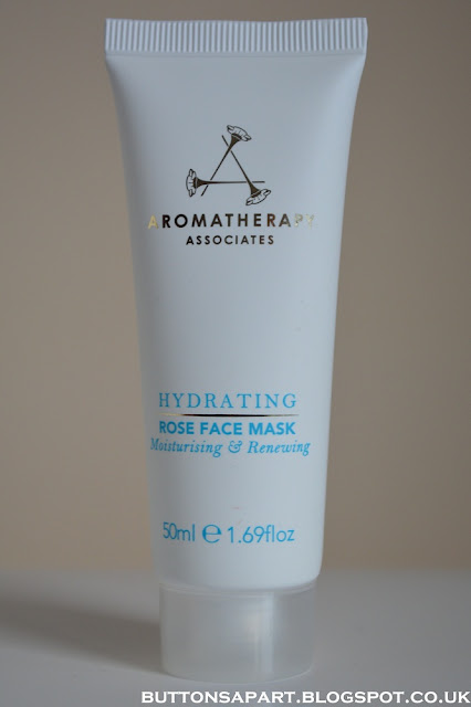 a picture of aromatherapy associates rose hydrating face mask