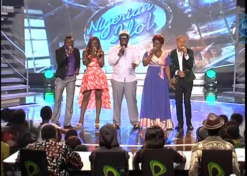 Jesse Jagsz - Desire Nigerian Idol 2nd Top 5 Gala Show