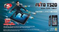 Harga Tablet Mito T520 Terbaru Bulan Agustus 2013