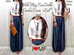 MF556 Maxi Denim + Belt SOLD OUT