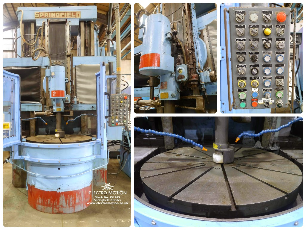 DOUBLE COLUMN ROTARY TABLE UNIVERSAL GRINDER