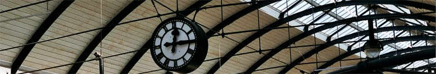 Newcastle Station Clock