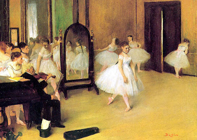 Edgar Degas - La classe de danse,1871.