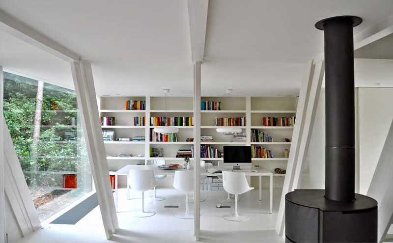 Maravillosa remodelación de una cabaña tradicional transformada en ...