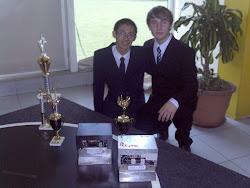 Ganadores de 3º puesto de la 8va. Competencia de sumo robots UTN - Bahía Blanca