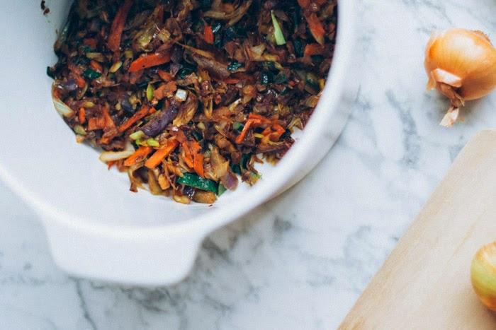 Receta magdalenas de verduras fácil