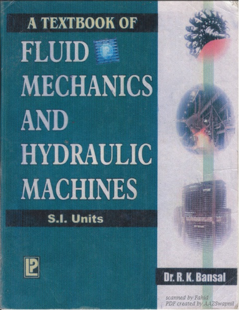 Fluid mechanics and hydraulic machines by rk bansal fandeluxe Image collections